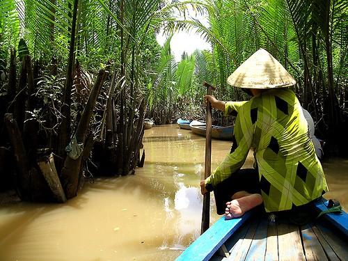 Дельта реки Меконга