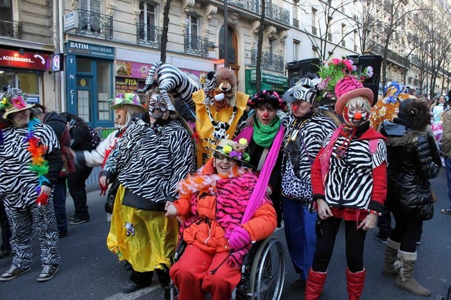 groupe clown carnaval femmes