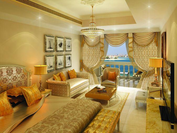 Отель KEMPINSKI HOTEL RESIDENCE PALM JUMEIRAH Пальмовый остров Джумейра Дубай пляжные отели ОАЭ Супериор 1 спальня-31-209102 700x440